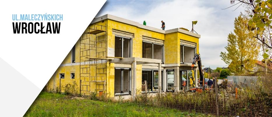 Montaż okien aluminiowych we Wrocławiu, ul.Malczyńskich