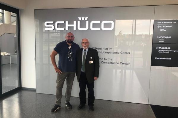 Zwiedzamy Show Room Schüco