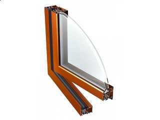 Okno aluminiowe Eurocolor PE78